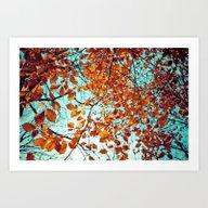 Rustic Autumn Art Print