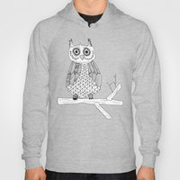Pink Owl Gives A Hoot Hoody