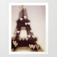 City Of Love - Paris Art Print