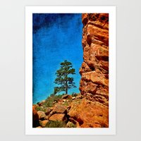 Red Rocks Colorado Art Print