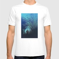 In The Woods Mens Fitted Tee White SMALL
