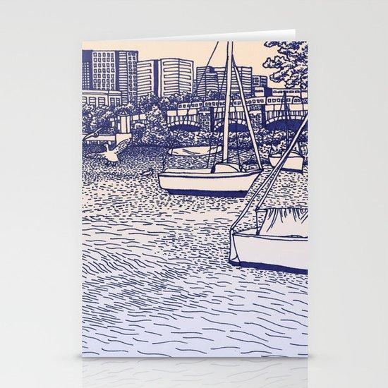 Charles River Esplanade Stationery Card