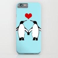 Penguins In Love iPhone 6 Slim Case