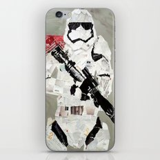 FIRST ORDER STORM TROOPER iPhone & iPod Skin
