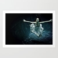 Abyss Of The Disheartene… Art Print