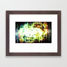You Are Here, as Are We All Framed Art Print