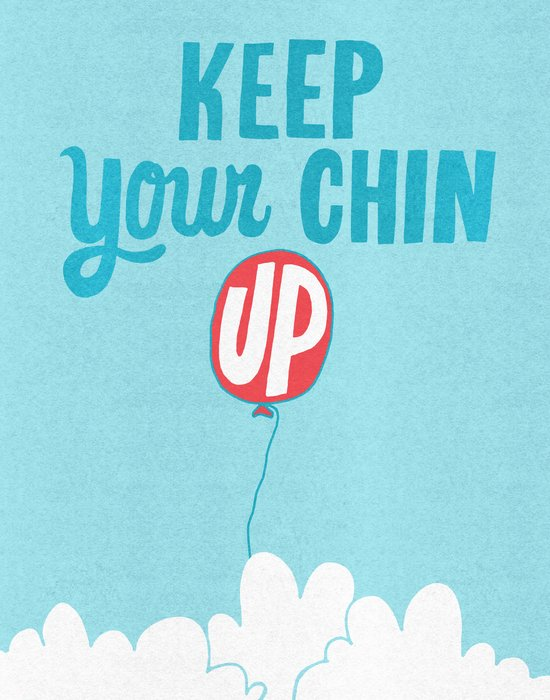 Keep Your Chin Up Canvas Print