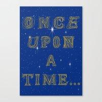 Fairy Tale Beginnings Canvas Print