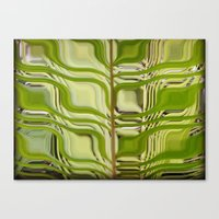 Abstract Germination Canvas Print