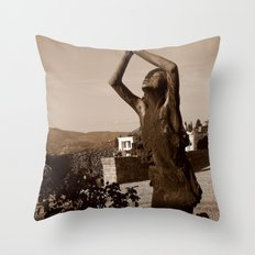 Lifted High Throw Pillow