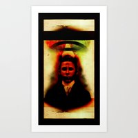 S-aint Nowhere Art Print