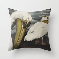 Tom Feiler Pelican Throw Pillow