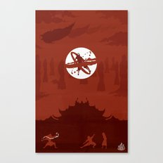 Avatar Book Fire - Version 2 Canvas Print