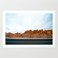 las vegas (four) Art Print