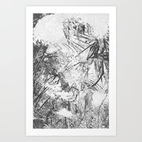 abstract nature Art Print