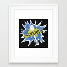 Spork! Framed Art Print