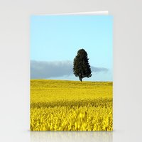 Fife's Golden Fields Of Rapeseed. Stationery Cards