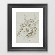 Dead Spring Framed Art Print
