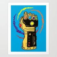 Infinity Power Art Print