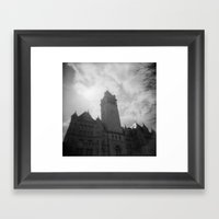 Post Park Framed Art Print