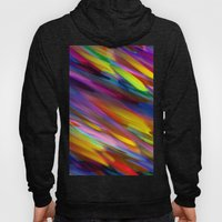 Colorful digital art splashing G398 Hoody