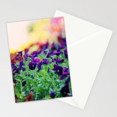 Rainbow of Flowers Stationery Cards