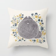 Kitch Cat Throw Pillow