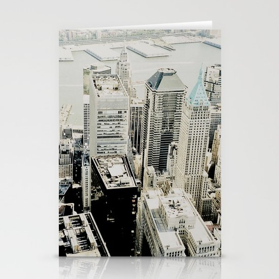 NEW YORK 1 Stationery Card