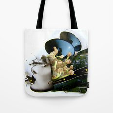AiVee portrait | Collage Tote Bag