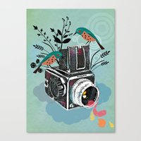 Vintage Camera Hasselbla… Canvas Print