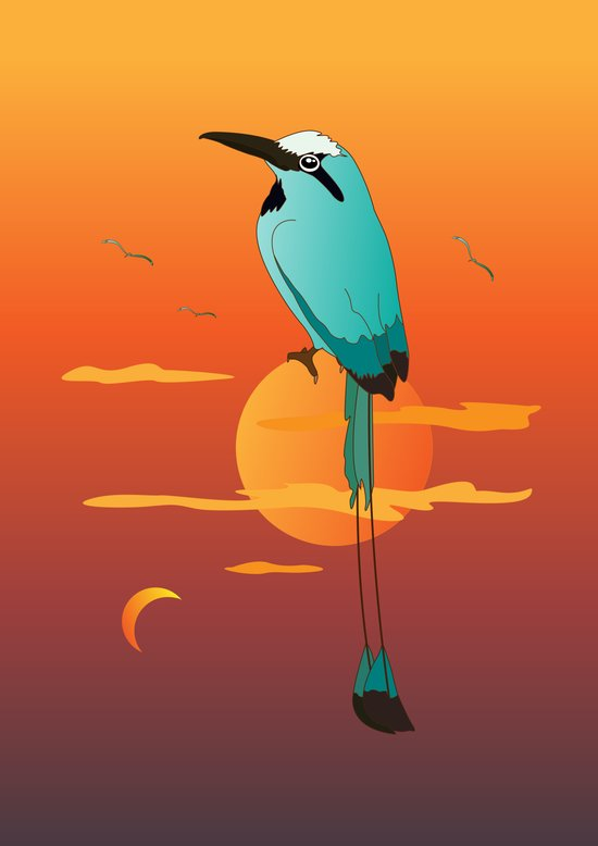 Oklahoma Bird Art Print