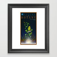 The Future Of Botany Framed Art Print