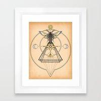 The Mystic Framed Art Print