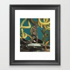 A Great Bird Framed Art Print