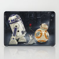 LOVE DROID & THE CAT iPad Case