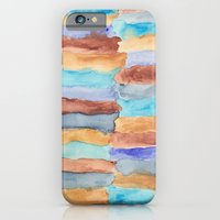 iPhone & iPod Case featuring Beach Stripes by Em Beck
