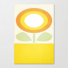 Minimal Flower Canvas Print