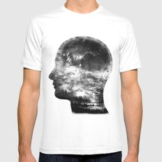 A Beautiful Mind Mens Fitted Tee SMALL White