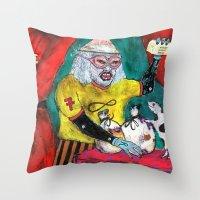 Alchimiste Throw Pillow