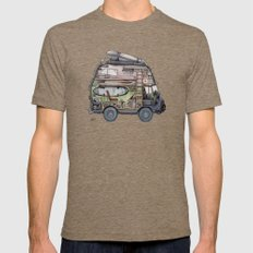 Dream Van - interior view Mens Fitted Tee Tri-Coffee SMALL