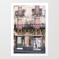 SICILIAN FACADE - Italy Art Print