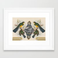 In Her Majesty's Service… Framed Art Print