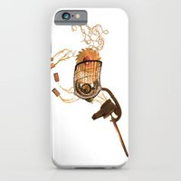 iPhone & iPod Case featuring Steampunk Unicorn by Dana Martin