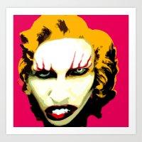 Monroe Manson Art Print