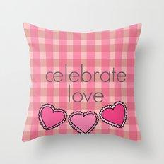 Celebrate Love! Throw Pillow