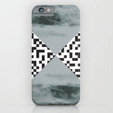 waves/grid #3 iPhone 6s Slim Case
