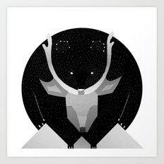 Find the Great Bear Art Print