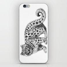 Snow Leopard cub g142 iPhone & iPod Skin