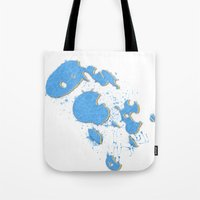 Liquid Distortion Tote Bag