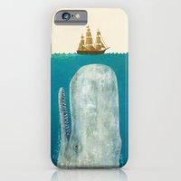 ocean iPhone & iPod Cases featuring The Whale  by Terry Fan